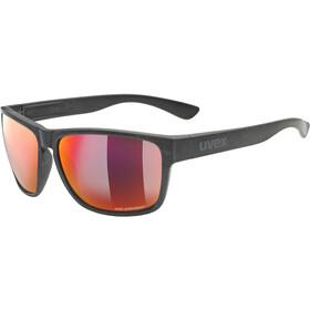 UVEX LGL Ocean Polavision Brille schwarz/rot